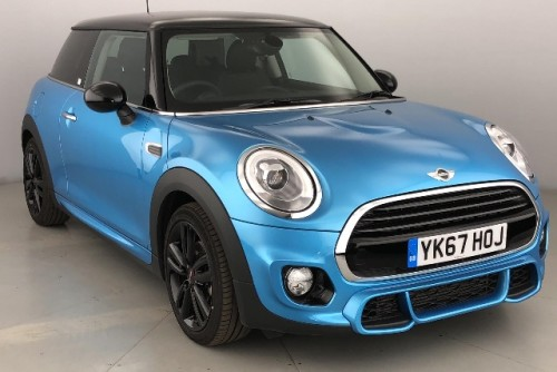 Mini Cooper D 1.5 Hatchback Diesel Electric Blue