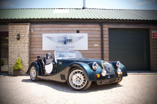Morgan Plus 8 4.8 V8 Convertible Petrol Jaguar British Racing Green Metallic