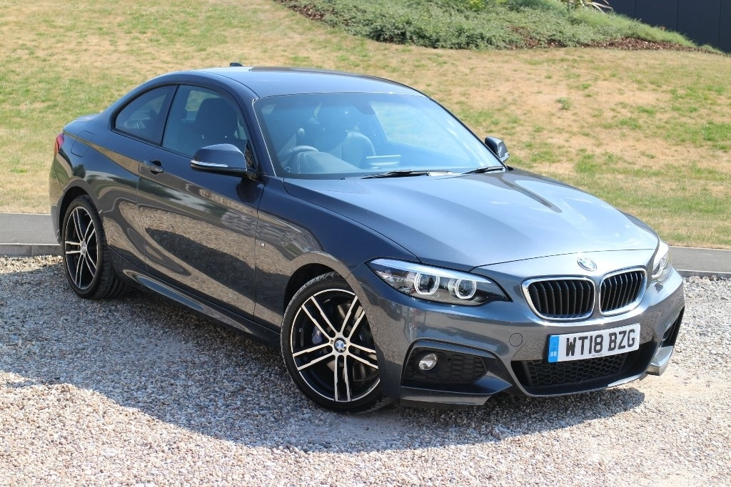 BMW 2 Series 2.0 220i M Sport Coupe Coupe Petrol Grey