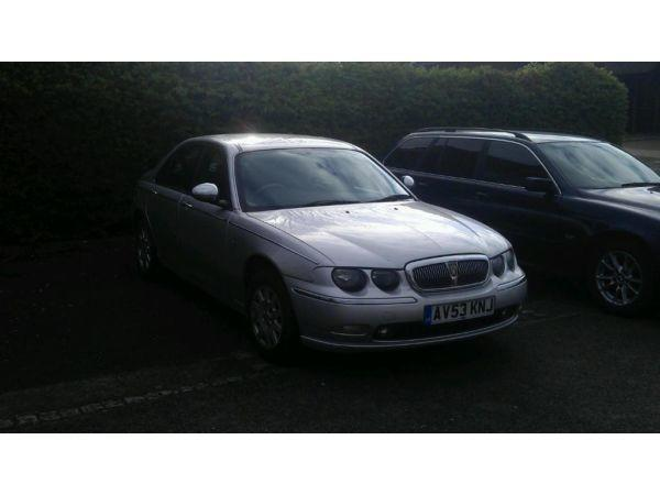 Rover 75 1.8 CONNOISSEUR SALOON PETROL SILVER