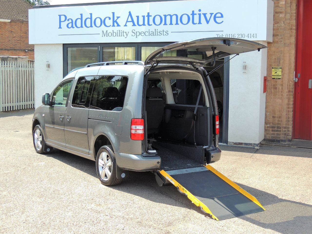 Volkswagen Caddy Maxi Life 1.6 TDI Disabled Wheelchair Adapted Vehicle WAV Wheelchair Adapted Diesel Grey Mica