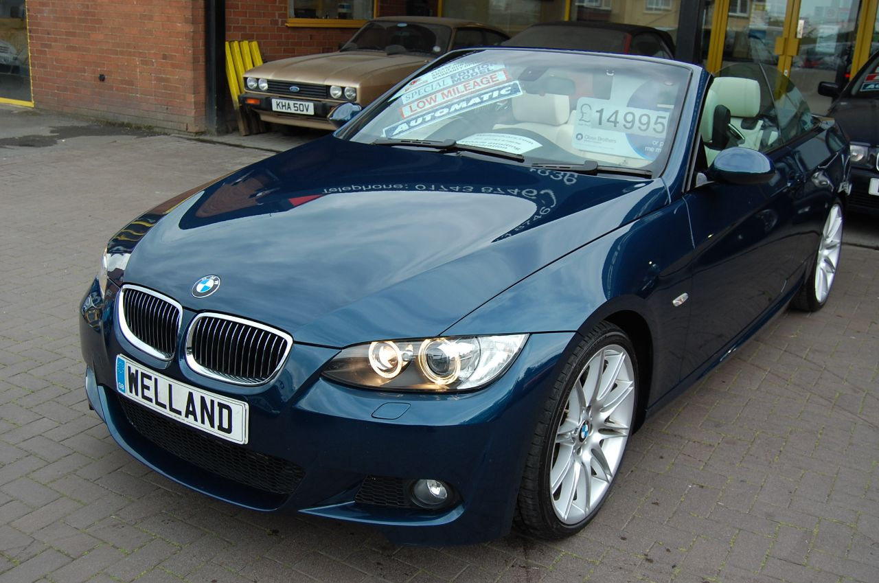 2008 BMW 3 Series 3.0 335i M Sport 2dr Auto Individual Convertible Only 27000 Miles
