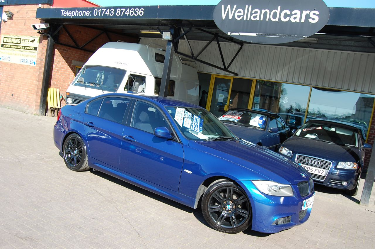 2009 BMW 3 Series 2.0 320d M Sport Business Edition 4dr 6 MONTHS WARRANTY INCLUDED WHEN SOLD AT SCREEN PRICE ONLY #