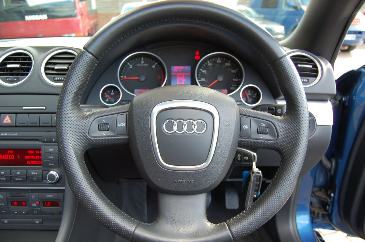 2007 Audi A4 2.0 TDi  SPORT CABRIOLET CONVERTIBLE, 1 LADY OWNER, ONLY 49,000 MILES