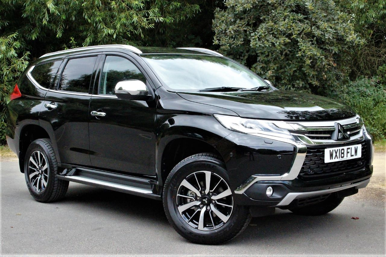 Mitsubishi Shogun Sport 2.4 3 AUTO 4WD FROM £37775 Four Wheel Drive Diesel Cosmos Black