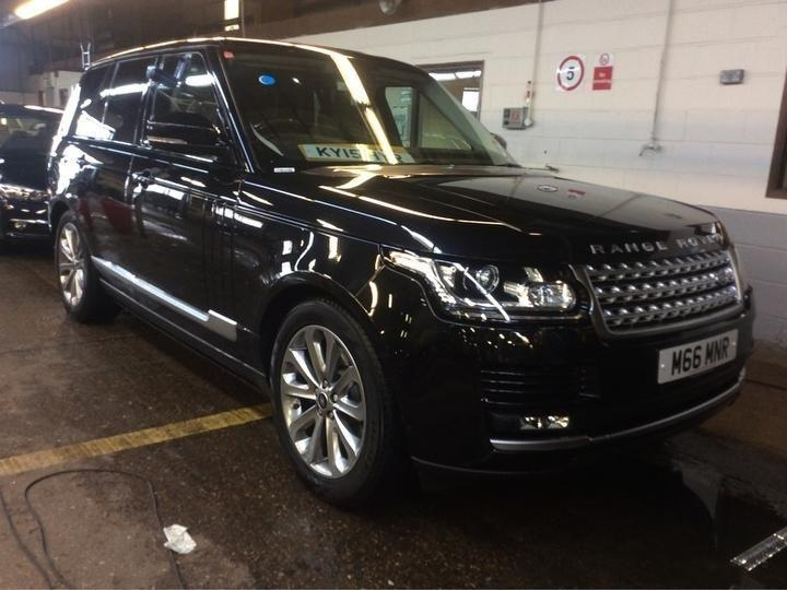 Land Rover Range Rover 3.0 Estate Diesel Black