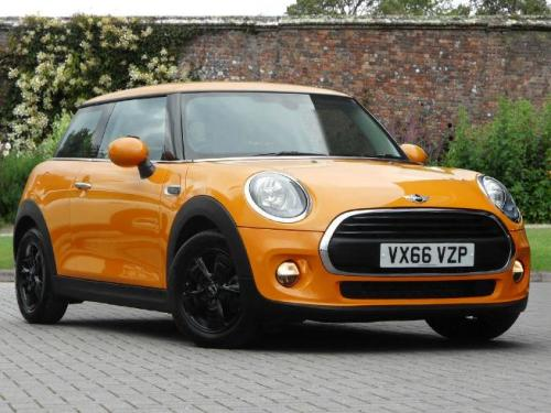 Mini One 1.2 Hatchback Petrol Volcanic Orange