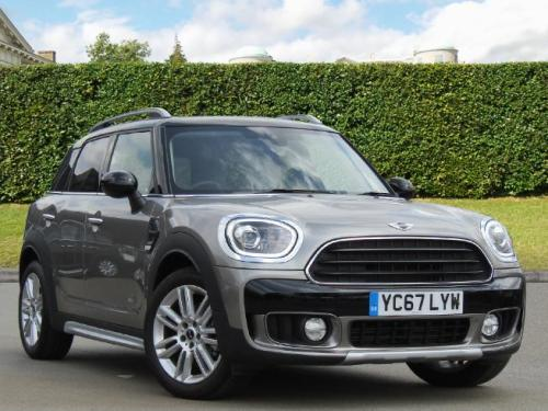 Mini Cooper D 2.0 Countryman Diesel Melting Silver