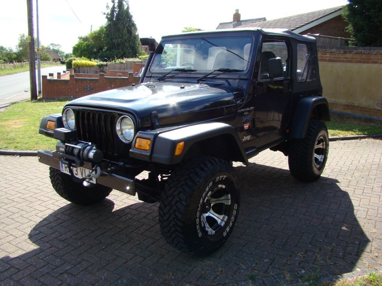 1998 Jeep Wrangler 4.0 Sport Soft Top Manual