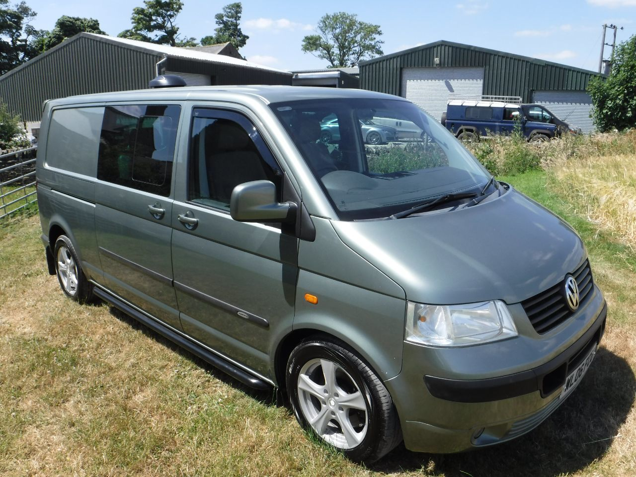 Volkswagen Transporter T5 2.5TDI PD 174PS T32 KOMBI Window Van MPV Diesel RARE METALLIC FRESCO GREEN