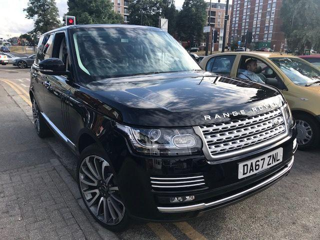 Land Rover Range Rover 3.0 TDV6 Vogue SE 4dr Auto Estate Diesel Black