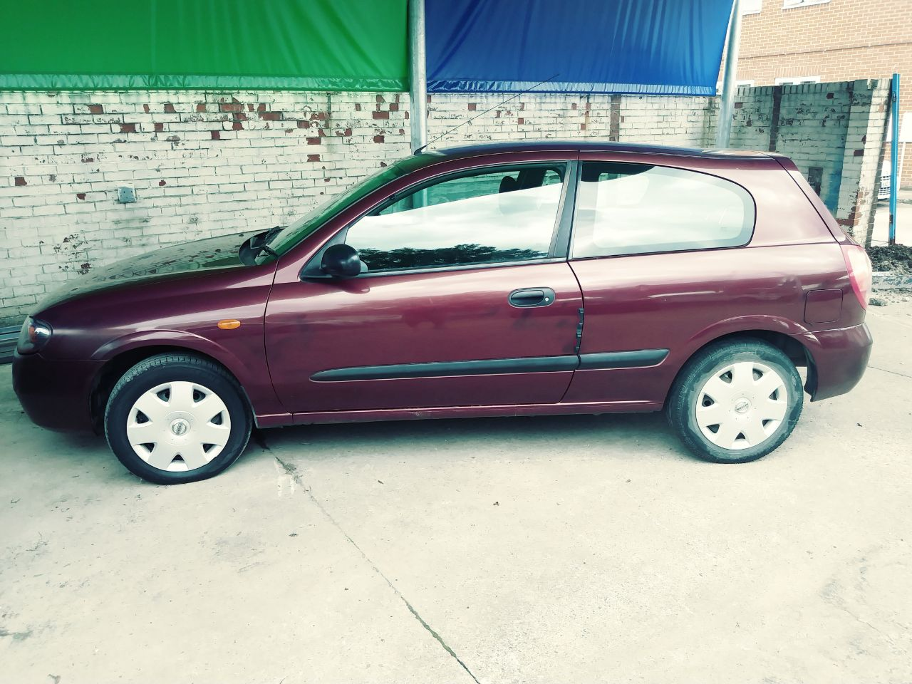 Nissan Almera 1.5 S 3dr Hatchback Petrol Red at Ken Wallace Northallerton