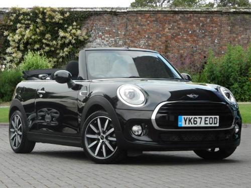 Mini Cooper D 1.5 Convertible Diesel Midnight Black