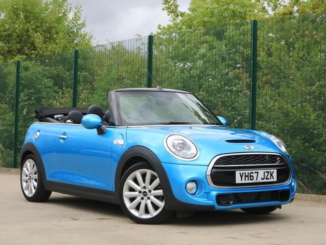Mini Cooper S 2.0 Convertible Petrol Electric Blue