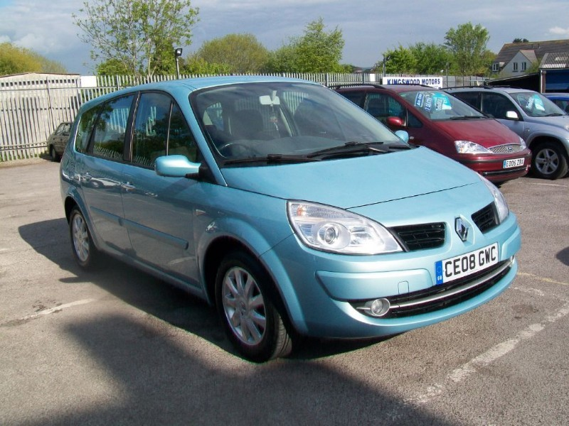 Renault Grand Scenic 1.6 DYNAMIQUE (7 Seats) MPV Petrol Blue