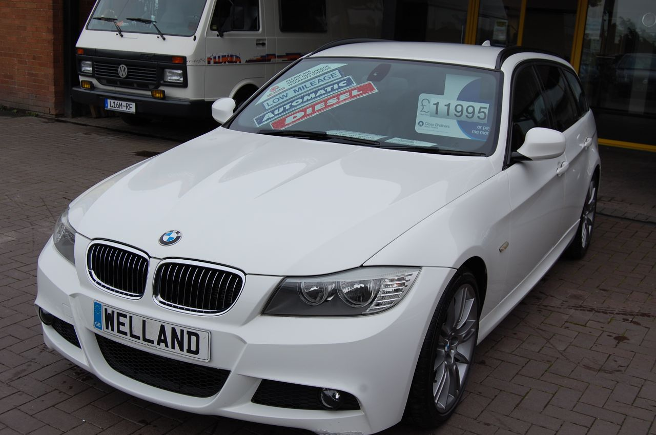 2012 BMW 3 Series 2.0 318d SPORT PLUS EDITION TOURING AUTO VERY LOW MILES ONLY 38K FSH