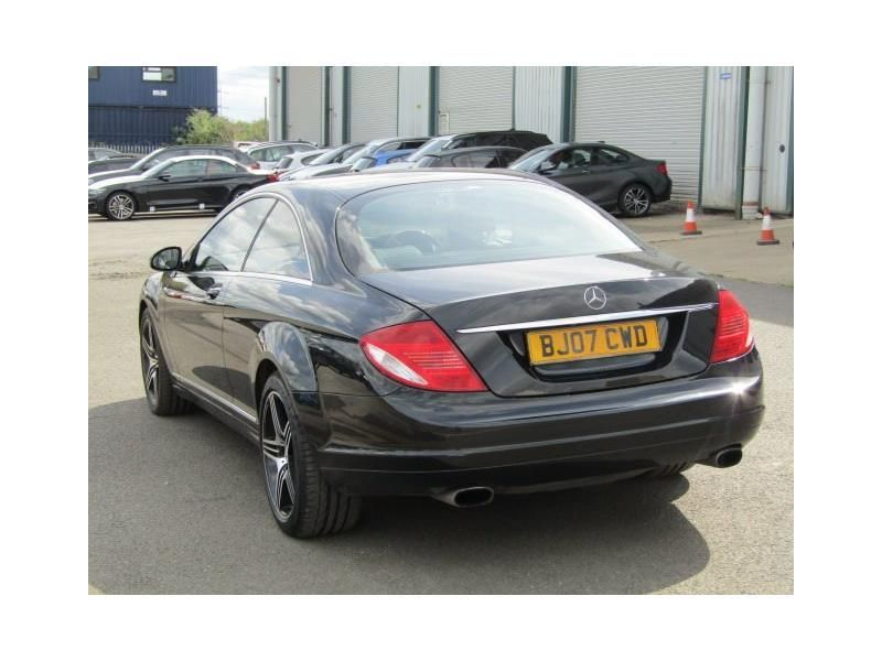Mercedes-Benz CL 5.5 CL 500 2dr Auto Coupe Petrol Black