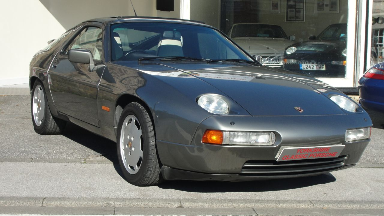 Porsche 928 5.0 S4 Coupe Petrol Grey at Yorkshire Classic Porsche Collingham