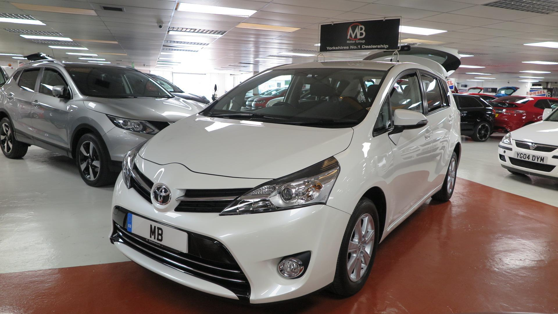 Toyota Verso 1.6 D-4D Icon [Start Stop] **7 SEATS**DAB BT AUDIO** MPV Diesel PEARL WHITE