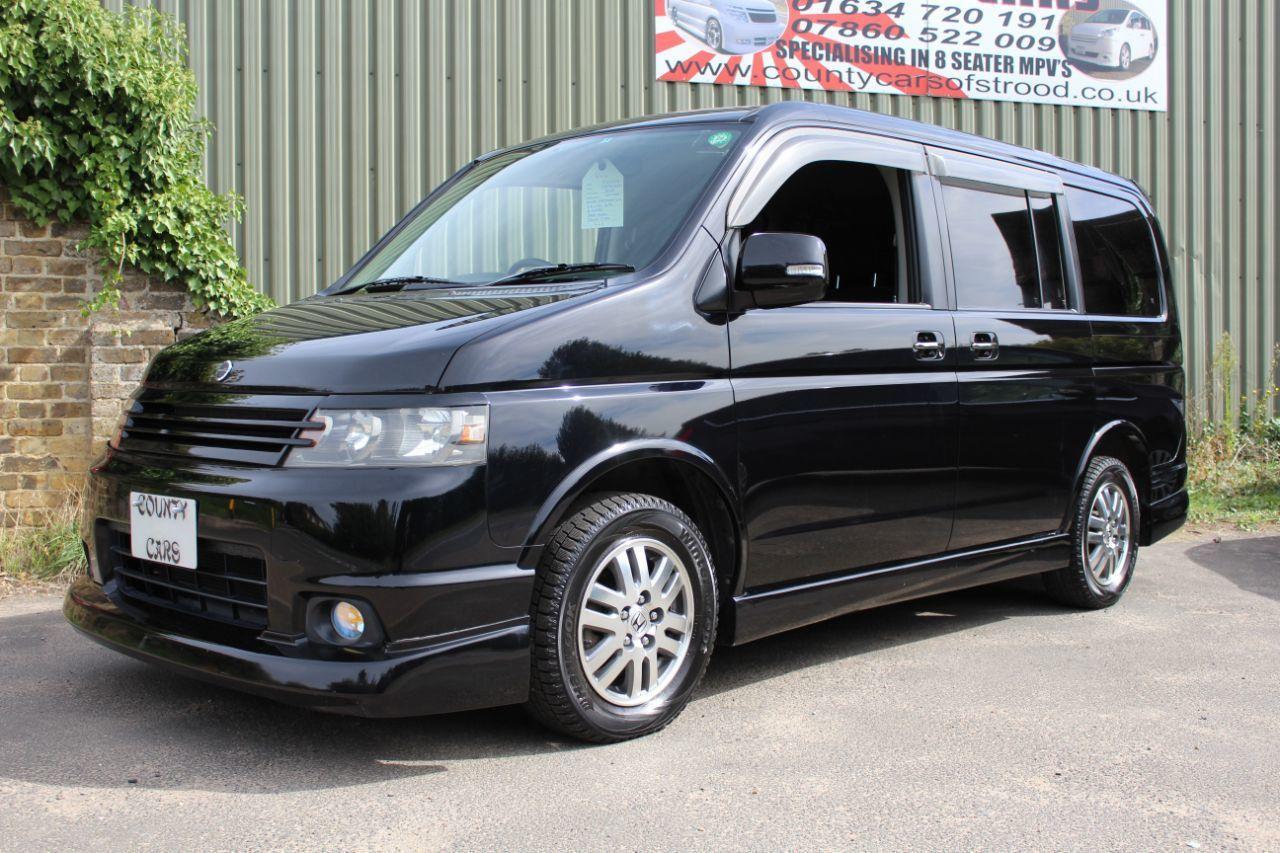 Honda Stepwagon 2.4 Spada Four Wheel Drive MPV Petrol Metallic Unmarked Black