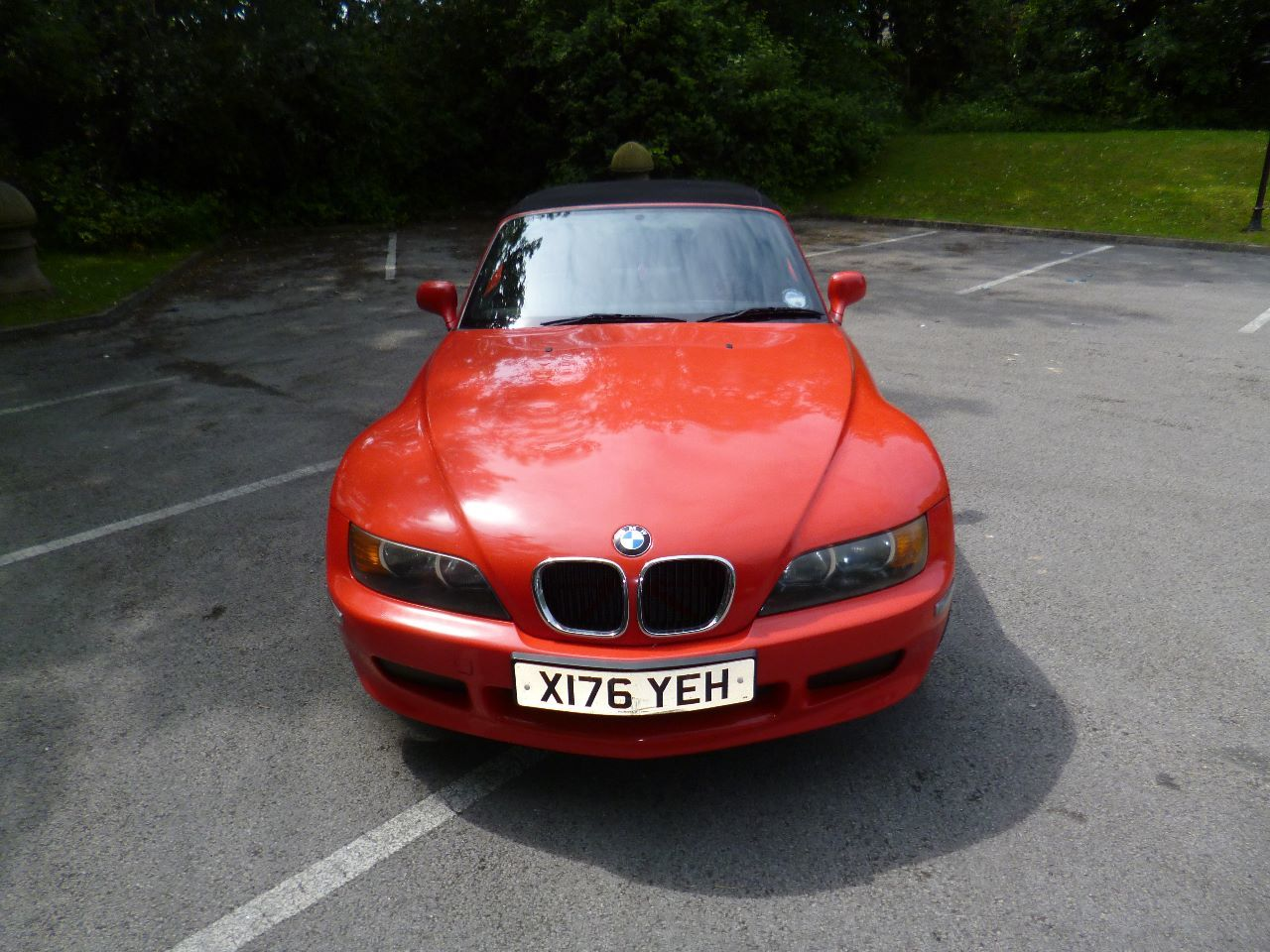 BMW Z3 1.9 Z3 ROADSTER Convertible Petrol Red