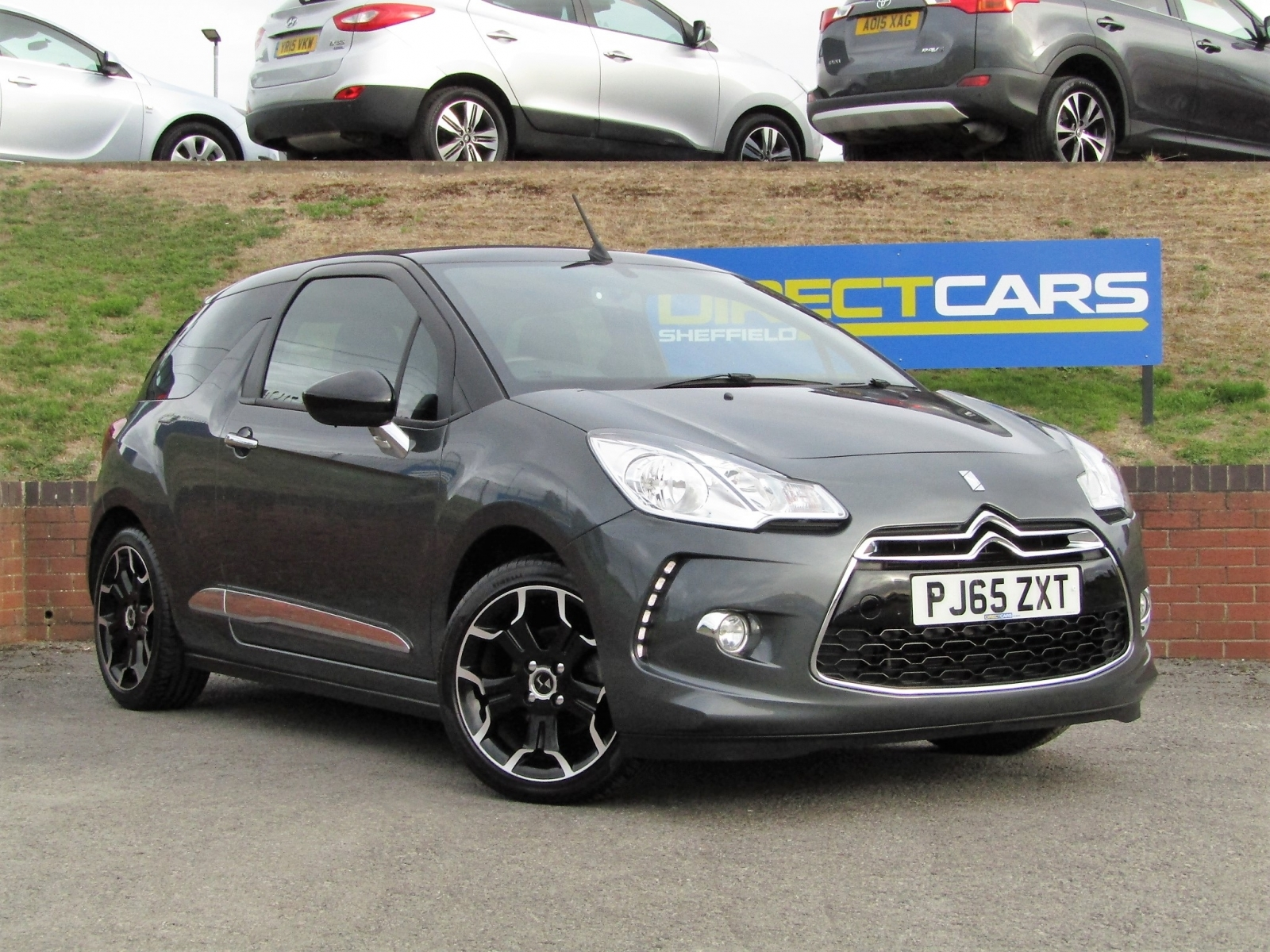 Ds 3 1.6 DStyle BlueHDi 2 Convertble Diesel Convertble Diesel Shark Grey
