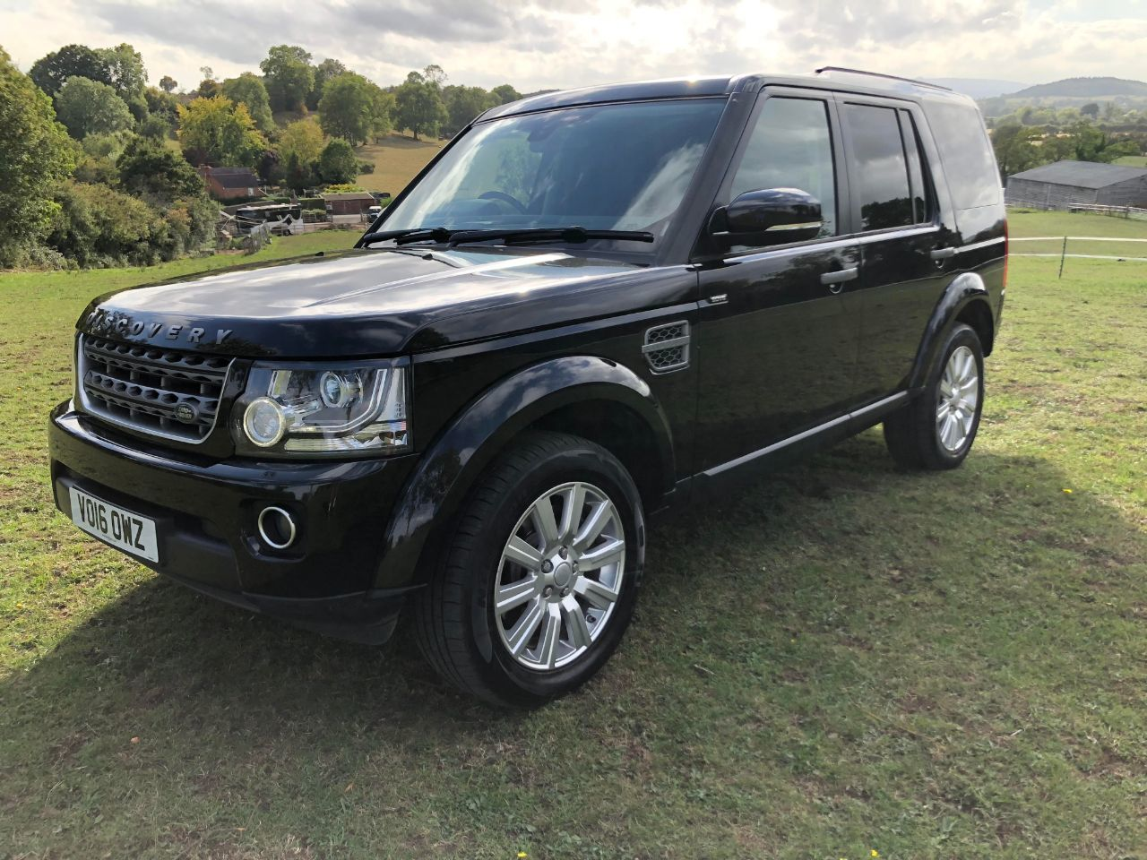 Land Rover Discovery 4 3.0 SE Commercial Sd V6 Auto Four Wheel Drive Diesel Black