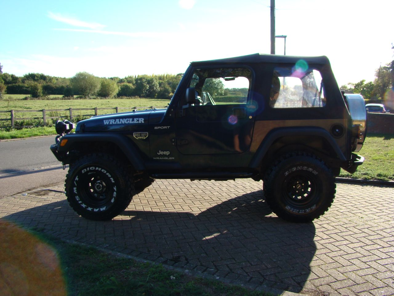 2005 Jeep Wrangler 4.0 Sport 2dr 6 Speed Soft Top