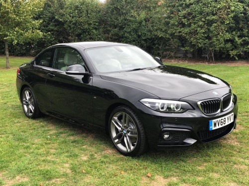 BMW 2 Series 2.0 230i M Sport Coupe Coupe Petrol Black