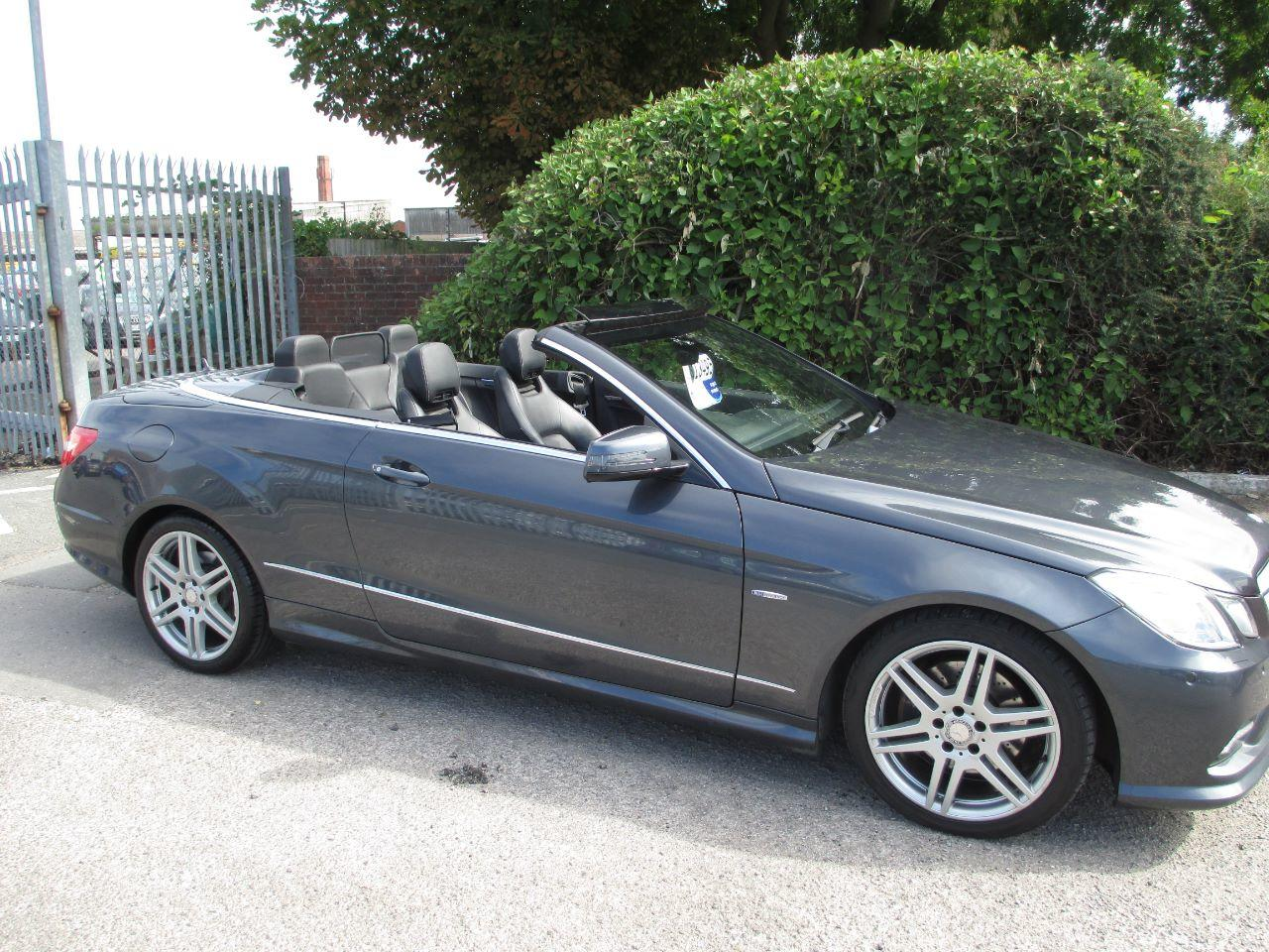 Mercedes-Benz E Class 3.0 E350 CDI BlueEFFICIENCY Sport 2dr Tip Auto Convertible Diesel Grey