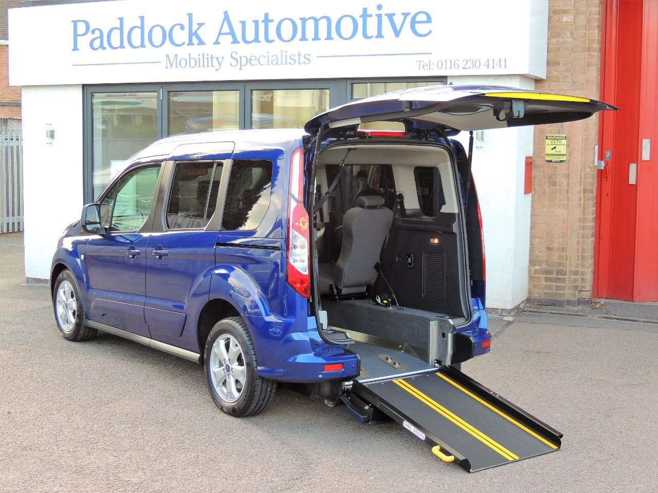 Ford Tourneo Connect 1.5 TDCi 120 Titanium Automatic Disabled Wheelchair Adapted Vehicle WAV Wheelchair Adapted Diesel Blue Mica
