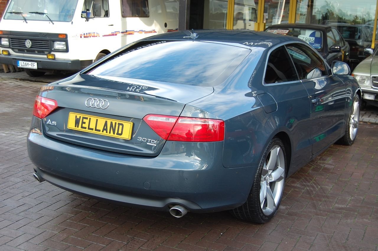 2008 Audi A5 3.0 TDI QUATTRO 2 DOOR COUPE AUTO 1 FORMER KEEPER HUGE SPECIFICATION