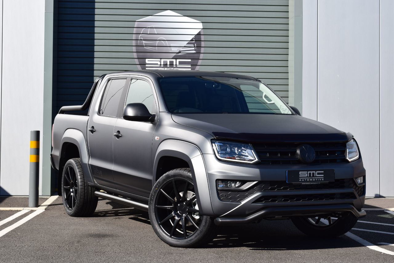 Volkswagen Amarok D/Cab Pick Up Highline 3.0 V6 TDI 224 BMT 4M Auto Pick Up Diesel Grey