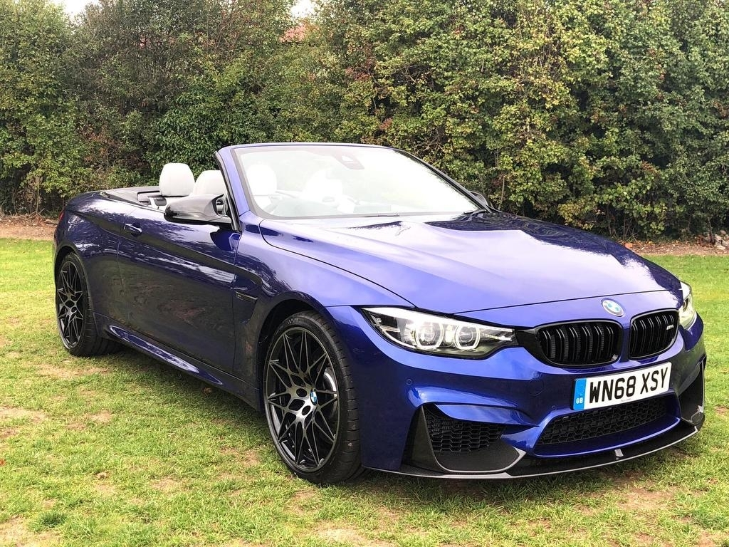 BMW M4 3.0 M4 Convertible Competition Package Convertible Petrol Blue