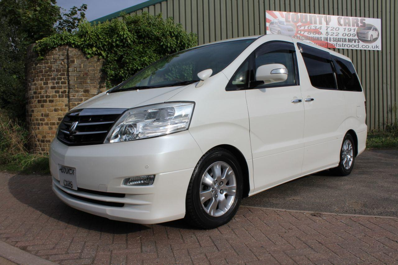 Toyota Alphard 3.0 MZG Edition MPV Diesel Unmarked Pearl White