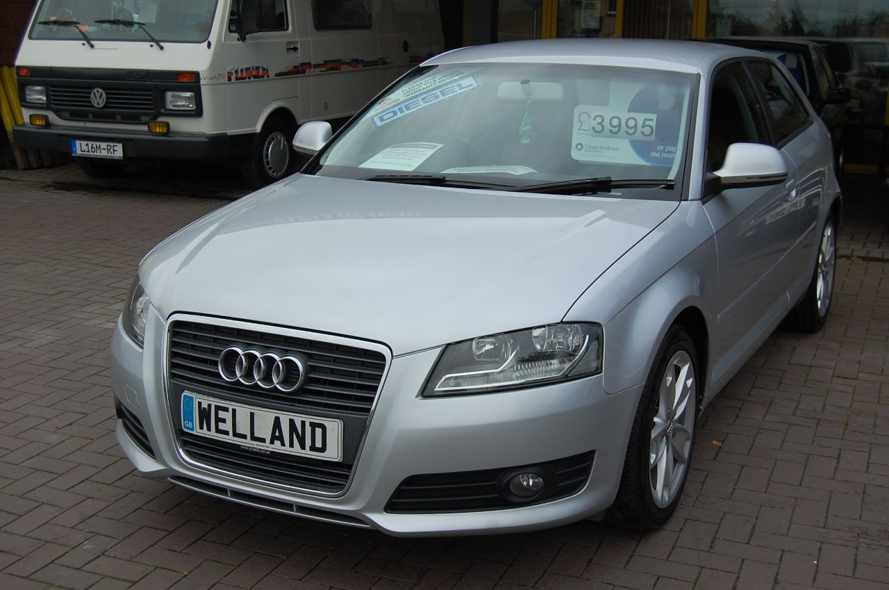 2009 Audi A3 1.9 TDI SPORT 5 SPEED MANUAL 3 DOOR HATCHBACK £30 A YEAR ROAD TAX # NOW SOLD #