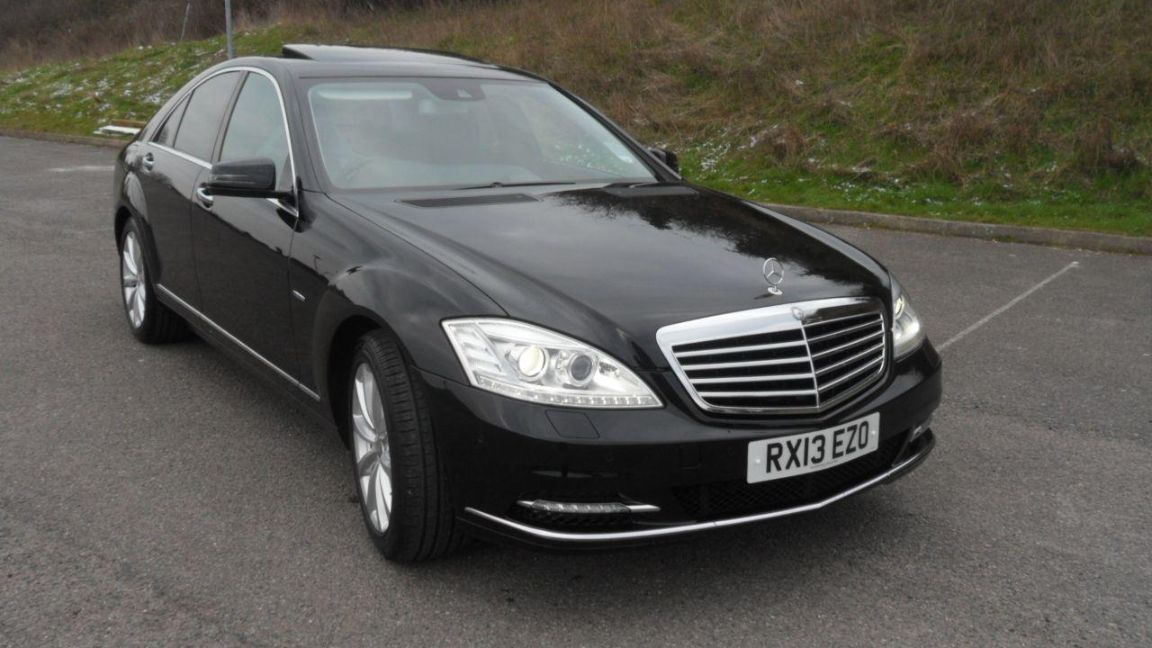Mercedes-Benz S Class 3.5 Saloon Petrol Metalic Black