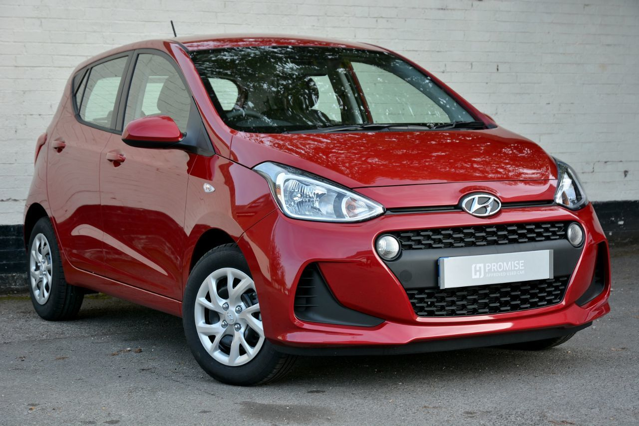 Hyundai i10 1.2 SE 5dr Auto Hatchback Petrol Red Passion