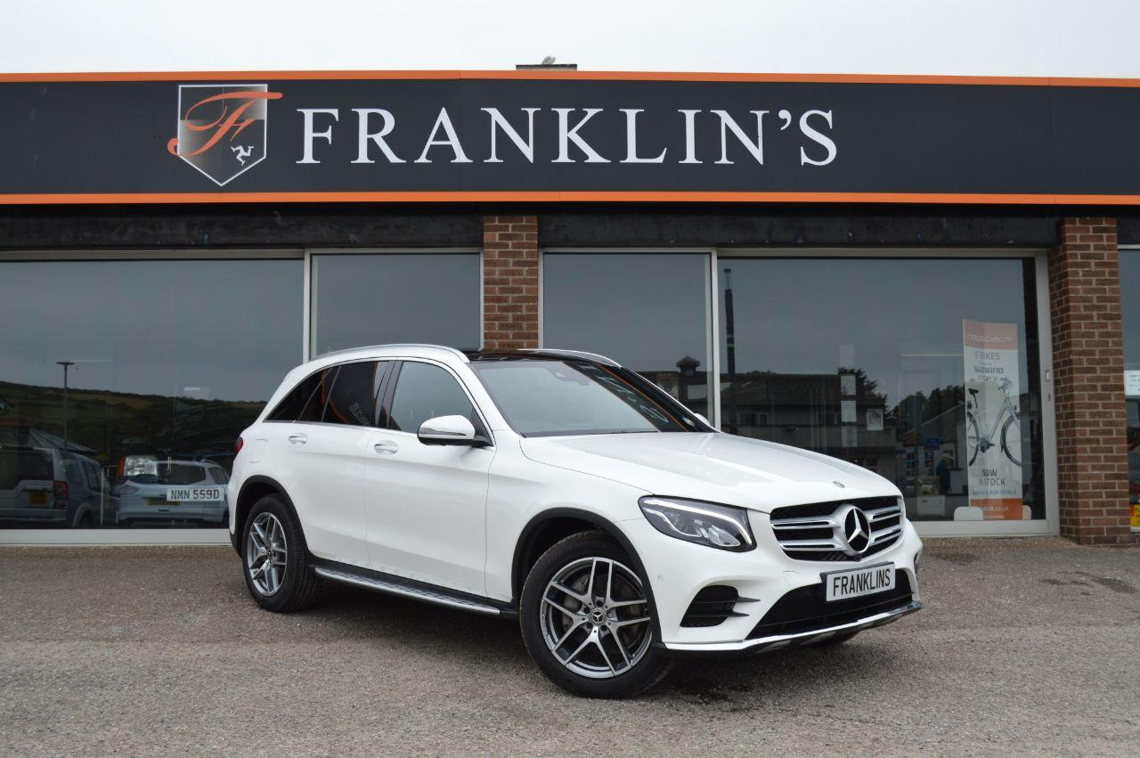 Mercedes-Benz GLC 2.1 GLC 220d 4MATIC AMG Line Premium Plus Four Wheel Drive Diesel Polar White