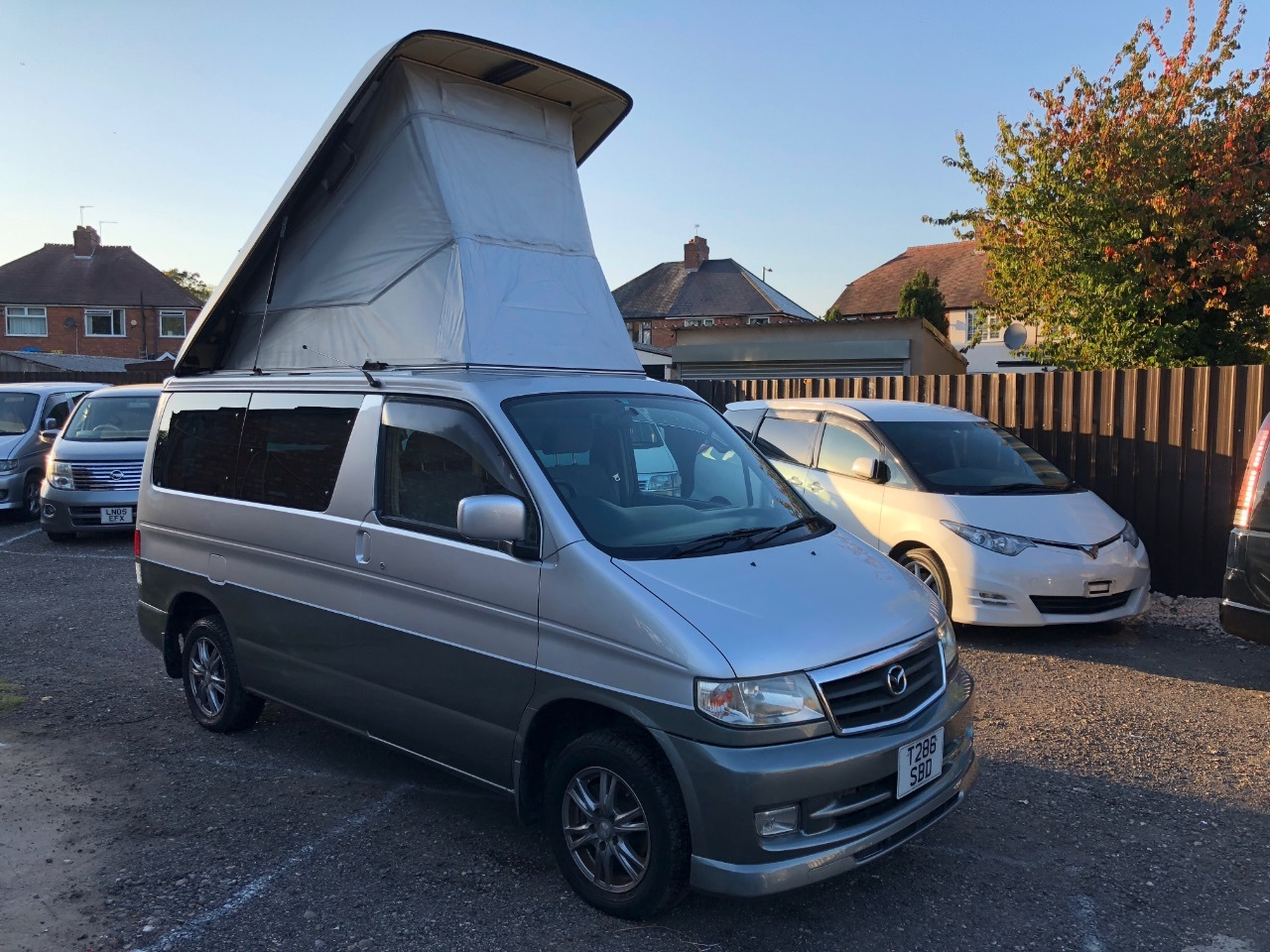 Mazda Bongo Friended 2.5 turbo diesel fresh import MPV Diesel Silver