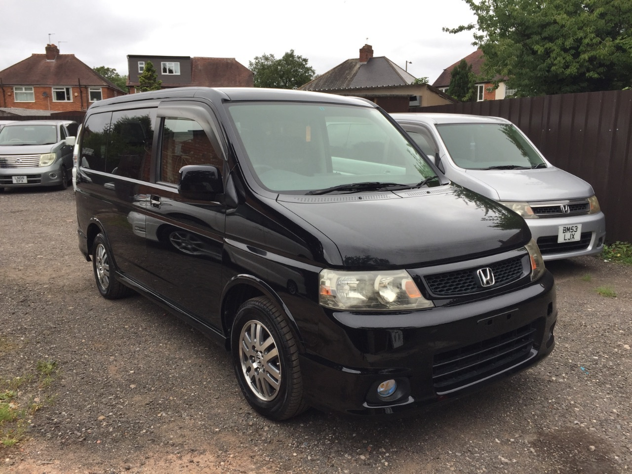 Honda Stepwagon Spada 2.0 I VTEC petrol Auto power door mpv 8seater Fresh Import MPV Petrol Black