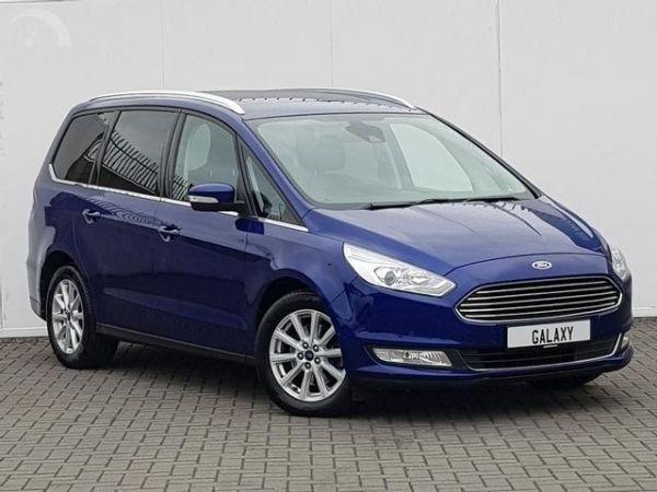 Ford Galaxy 2.0 TDCI Zetec 150ps 2019/19 plate MPV Diesel Colour Choice
