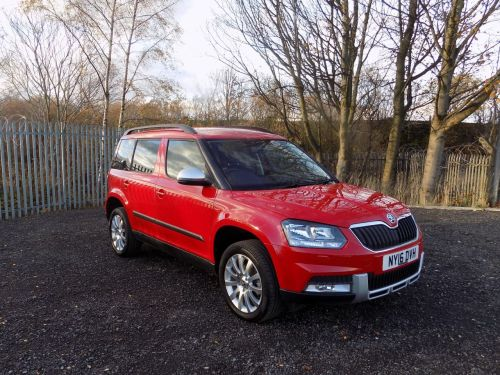 Skoda Yeti Outdoor 2.0 TDI CR [150] SE 4x4 5dr DSG Hatchback Diesel Red