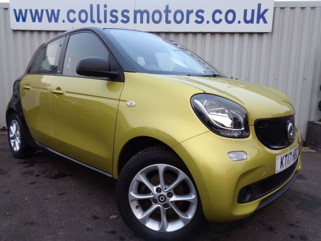 Smart Forfour Hatchback 1.0 Passion 5dr Hatchback Petrol Yellow