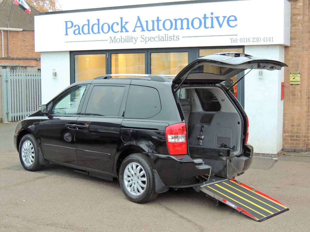 Kia Sedona 2.2 CRDi 3 Auto Disabled Wheelchair Adapted Vehicle WAV Wheelchair Adapted Diesel Black Mica