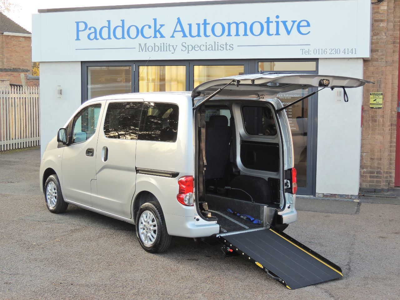 Nissan NV200 1.5 dCi SE Disabled Wheelchair Adapted Vehicle WAV Wheelchair Adapted Diesel Silver Mica