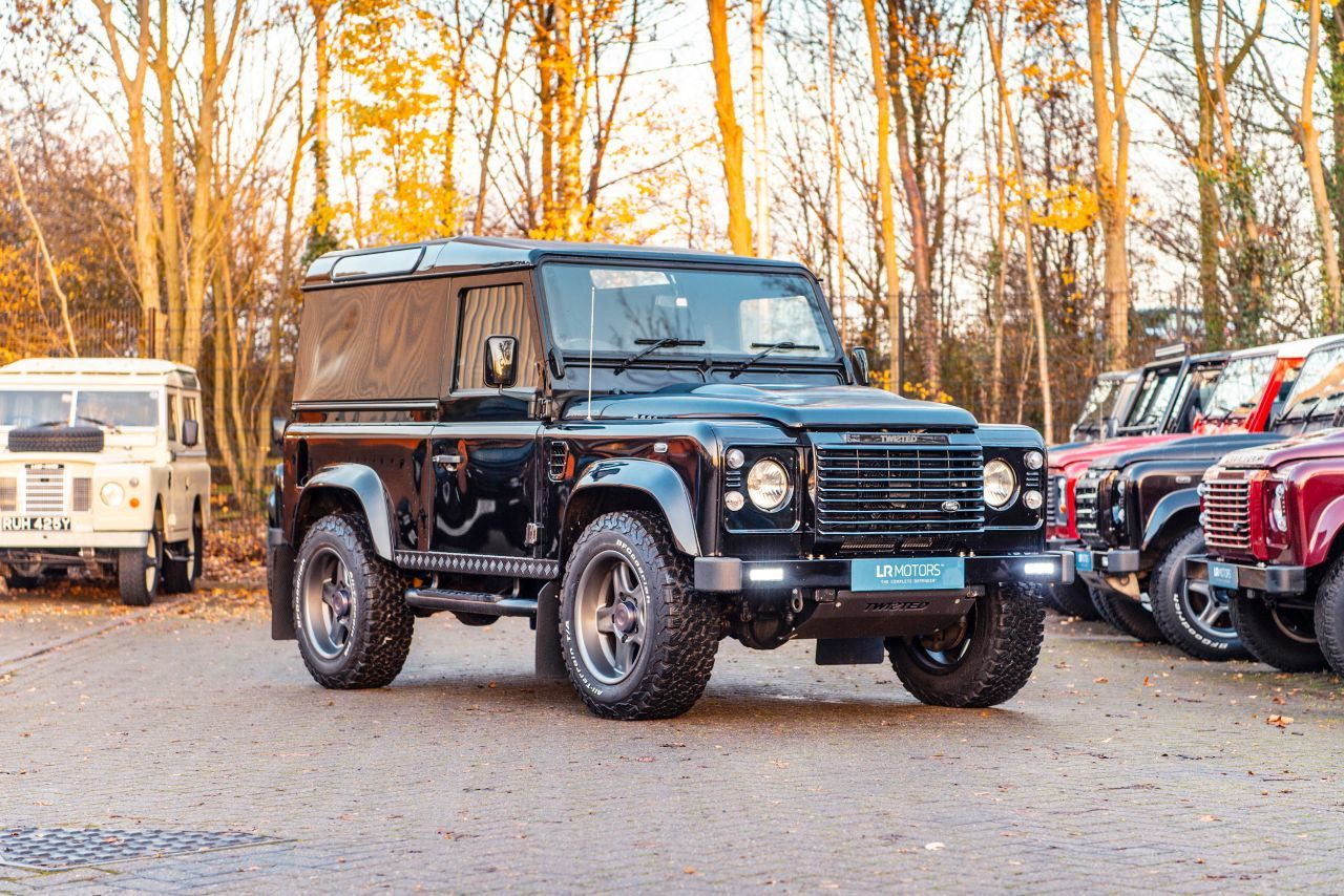 Land Rover Defender 2.2 90 XS Hard Top Twisted T60 Automatic Four Wheel Drive Diesel Black