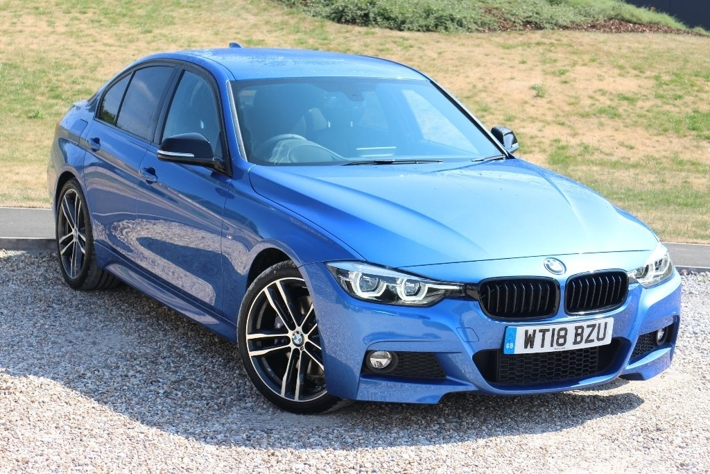 BMW 3 Series 2.0 320i M Sport Shadow Edition Saloon Saloon Petrol Blue