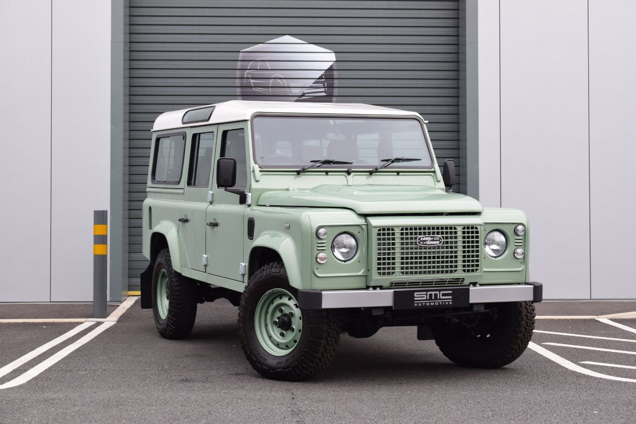 Land Rover Defender Heritage Station Wagon TDCi [2.2] SUV Diesel Green