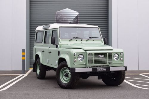 Land Rover Defender Heritage Station Wagon TDCi [2.2]One of 400 Heritage Editions Four Wheel Drive Diesel Green